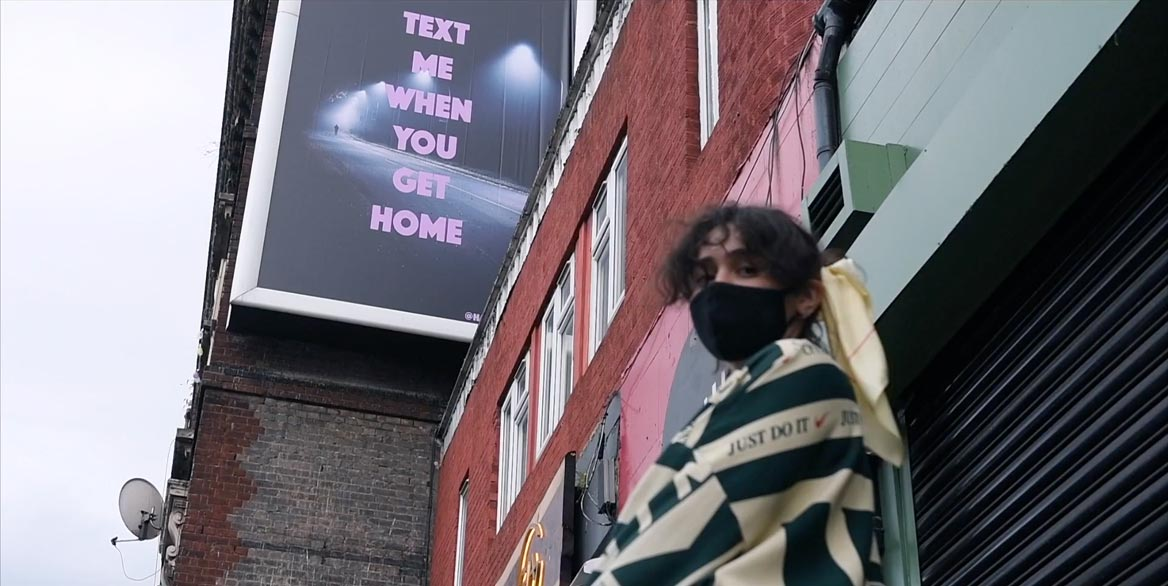 'Text me when you get home' – for the charity Rosa