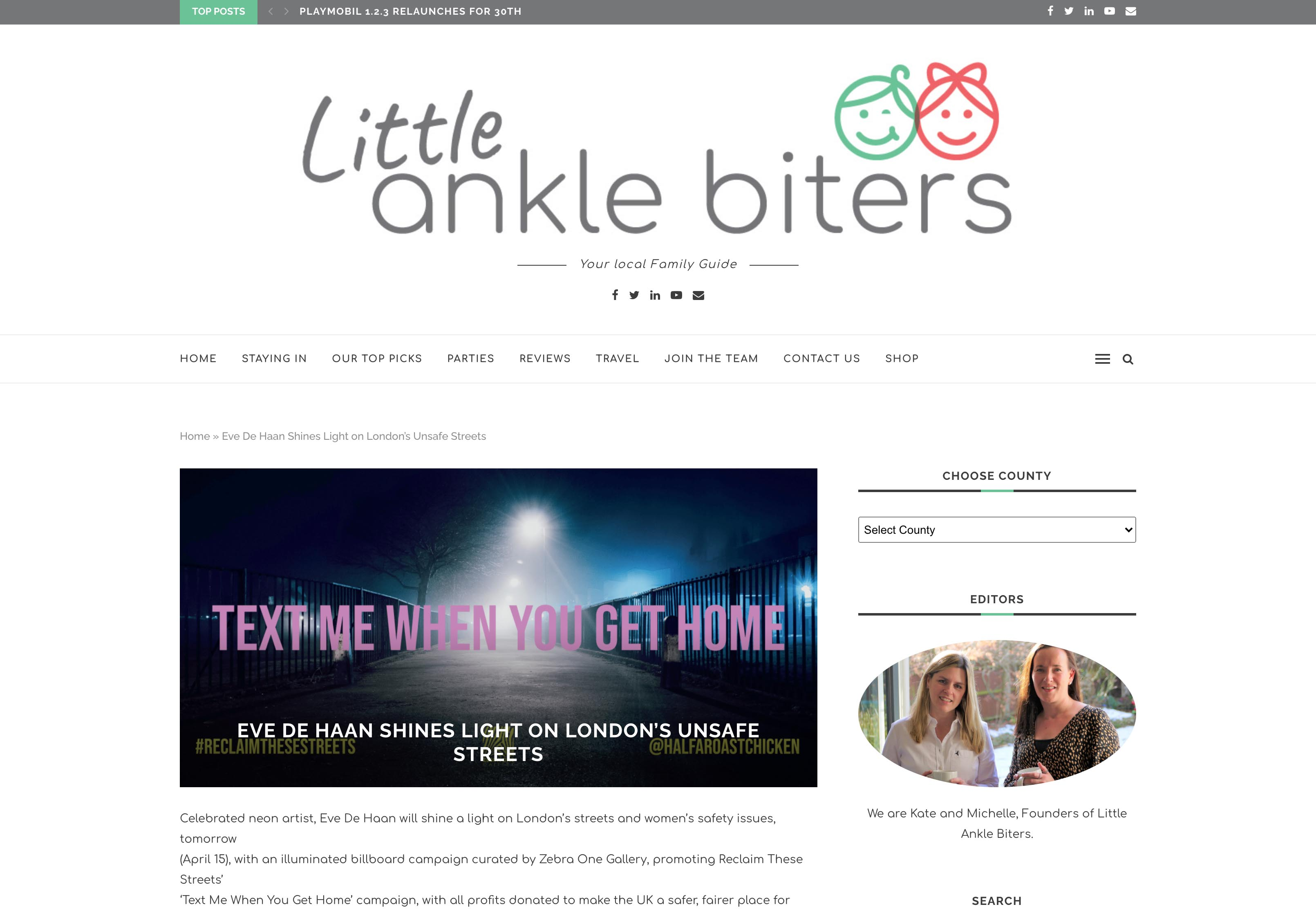 Ankle Biters